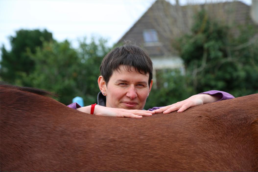 ostéopathie dos cheval